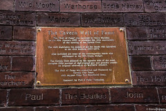 The Cavern Wall of Fame (Eiona R.) Tags: liverpool thebeatles magicalmysterytour