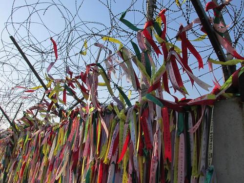Messages d'espoir, frontière nord-coréenne