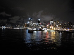 Sydney Harbour la nuit