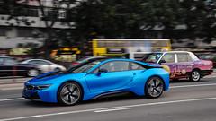 BMW i8 (Benny_chin) Tags: sports car germany hongkong nikon engineering bmw plugin mm hybrid carbonfiber i8 d300 innovative f3556 worldcars 1801050 protonicblue frozengreymatallic