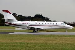 PH-RLG (GH@BHD) Tags: corporate aircraft aviation executive dub cessna dublinairport citation bizjet citationsovereign dublininternationalairport c680 cartiereurope phrlg