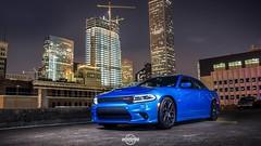 Shut the City Down (ATJH) Tags: blue cars long exposure texas fiat houston dodge b5 hemi chrysler mopar lowered rt v8 charger challenger horsepower v6 brembo hellcat srt sxt eibach scatpack