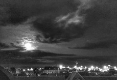 Beautiful Clouds over Ystad tonight.  (davidredjoy) Tags: sky night clouds sweden moonlight iphone ystad davidredjoy nightcappro