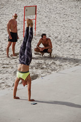 Strenght & Balance (Ktoine) Tags: street beach training sand power muscle candid balance fitness beachfront strenght