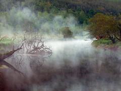 Mystic river (kenny barker) Tags: mist river scotland strathyre balvaig