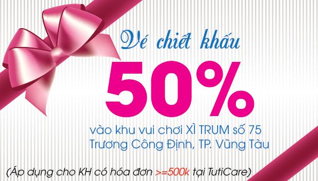 [TutiCare Vũng Tàu] Bung lụa sinh nhật tròn 1 tuổi- GIẢM SỐC đến 90%
