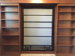 IMG_5407 (murphybeddepot) Tags: library storage pinta murphybed spacesaving wallbed murphybeddepot libarybed