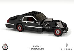 LUGNuts Custom Lincoln Town-Coupe (lego911) Tags: auto usa car modern america town model lego render 2006 smell lincoln hotrod 102 custom coupe challenge v8 cad lugnuts povray ratrod 2000s moc ldd towncoupe miniland foitsop lego911 ismellamodernrat
