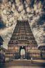 Shringeri Sharada Peetam (Prabhu B Doss) Tags: clouds temple hindu hinduism cloudporn southindia sigma1020mm templearchitecture nikond80 dravidianarchitecture prabhubdoss