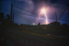 It struck me like a lightening..  #rain #lightening (trinava_lai) Tags: rain lightening