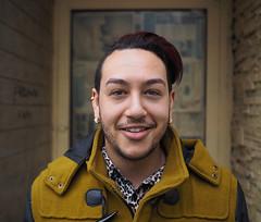 Tyler (jeffcbowen) Tags: street toronto stranger tyler thehumanfamily