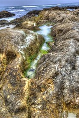 Tide Pool on top of Rocks (joe Lach) Tags: tidepool tidepoolontopofrocks rocks beach sand waves pacificocean asilomarstatebeach pacificgrove montereybay california water waterpictorial montereypeninsula joelach