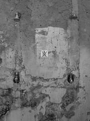No Soap! (Daniel C. Brunner) Tags: bnw blackandwhite bw blackwhite black white street stillife soap shower croatia novigrad