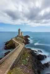 Le Phare du Minou - Brest (lucien_muller) Tags: road longexposure sea lighthouse storm france clouds french coast brittany shorelines bretagne brest phare finistere ndfilter firecrest petitminou