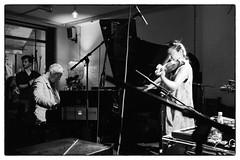 Steve Beresford/Satoko Fukuda @ Cafe Oto, London, 18th June 2016 (fabiolug) Tags: leica blackandwhite bw music london monochrome 35mm blackwhite concert live duo gig livemusic performance piano rangefinder summicron violin improvisation improv monochrom biancoenero dalston pianoforte leica35mm leicam 35mmsummicronasph leicasummicron steveberesford summicron35mmf2asph satokofukuda 35mmf2summicronasph cafeoto summicronm35mmf2asph mmonochrom leicammonochrom leicamonochrom unpredictableseries alterationsfestival