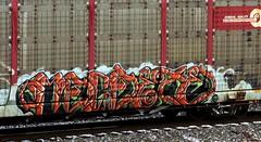 machete (timetomakethepasta) Tags: machete sts rtd freight train graffiti conrail autorack