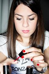 Sara manicure (Antonio Casti) Tags: famiglia casty