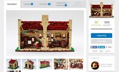 Project Now Live! (Brother Steven) Tags: house project idea italian lego davinci workshop leonardo ideas