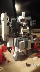 Update on this guy  #mecha #lego #robot #design #creation #gundam gunpla #zaku #wip #datboi (xmook) Tags: design robot lego wip creation gundam zaku mecha datboi