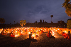 Meditation. (DarrenWilch) Tags: asia cambodia buddha buddhist monk angkorwat monks approved meditation angkor visakhabucha