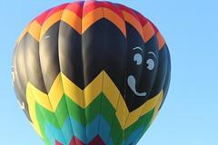 IMG_1634 (thehachland) Tags: sunset fire flames balloon hotairballoons ballstonspa saratogacounty saratogacountyfairgrounds saratogaballoonandcraft