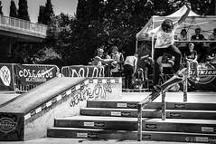 Skate-Championnat-France-Nimes (NoSound Photography) Tags: park street people monochrome nikon freestyle spirit board contest lifestyle style rail slide bowl tricks skatepark skateboard rue nimes effect grind sk8 championnatdefrance nosoundphotography