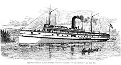 The Puget Sound & Alaska Steamship Company's Steamer - City of Kingston (WA State Library) Tags: washingtonterritory westshore newspapers
