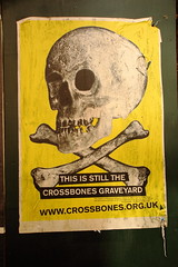 Crossbones Graveyard Southwark.www.crossbones.org.uk (gormifox) Tags: skull crossbones