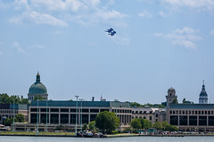 The Blue Angels (Karol A Olson) Tags: plane jets navy annapolis blueangels navalacademy severnriver may16
