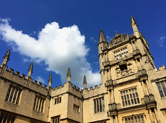 Bodleian Library, Oxford University (tmvissers) Tags: uk england university library courtyard oxford oxfordshire bodleian