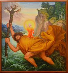 Otto Dix (Francisco Anzola) Tags: vatican tree art saint painting branch halo holy fart vaticancity vaticanmuseums