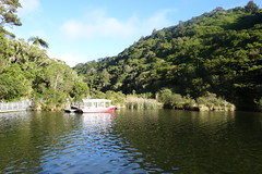 Boat mooring, Lower reservoir (Andos_pics) Tags: newzealand reservoir wellington karori zealandia