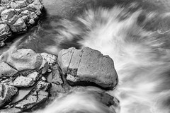 The Escape (John Fn Photography) Tags: blackandwhite bw abstract water monochrome river grey mono is waterfall iceland nikon rocks stream stones gray nordic capitalregion 1635mm manfrottotripod d810 republicoficeland constantaperture nikonfx nikkor1635mm 1635mmf40