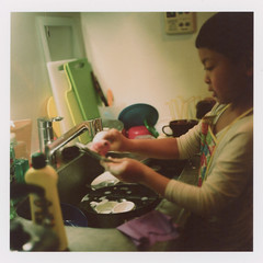 insta237 (sudoTakeshi) Tags: film japan kids tokyo child kodak hasselblad housework 500c filmcamera portra washing planar kodakfilm carlzeiss  kodakportra400  kodakportra hasselblad500c  planar80mm  carlzeissplanar planar80