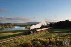 Ivatt No. 46512 'E.V.Cooper Engineer' -  Croftnahaven (Jonathon Gourlay) Tags: scotland highlands steam strathspeyrailway 46512