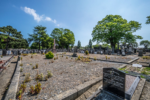 MOUNT JEROME CEMETERY AND CREMATORIUM IN HAROLD'S CROSS [SONY A7RM2 WITH VOIGTLANDER 15mm LENS]-116999