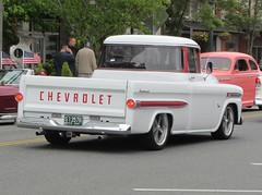1959 Chevrolet Fleetside (Hugo90-) Tags: show cruise chevrolet truck washington apache pickup event chevy 31 everett 1959 fleetside 396 cruiseoncolby