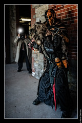 Scarecrow and Deathstroke (Pierre Gautreau) Tags: villains deathstroke gothamcity dccomics scarecrow