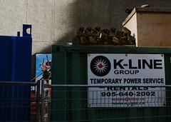Temporary Power (geowelch) Tags: toronto downtown constructionsite urbanlandscape urbanfragments fujifilmx10