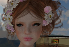 A Mist Thei profile picture (Teddi Beres) Tags: life portrait cute girl face hair pretty sweet head profile mother goose sl second freckles diva
