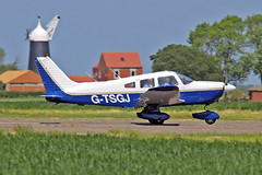 G-TSGJ PA-28-181 Archer II Golf Juliet Flying Group Sturgate Fly In 05-06-16 (PlanecrazyUK) Tags: sturgate egcs flyin 050616 gtsgj pa28181archerii golfjulietflyinggroup fly in