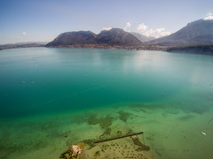 Annecy Lake ! (NT) Tags: from summer sky lake annecy beach nature water landscape vacances holidays view altitude den lac playa aerial ciel terre t paysage plage vue paysages 4k haut drone hauteur et q500 yuneec
