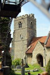 Church of St Nicholas  Cuddington (Barrytaxi) Tags: church outdoor photoblog photoaday 365