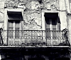 Ruins (Christine Bloom) Tags: old windows white house black portugal wall town nikon iron lisboa balcony shattered d5500