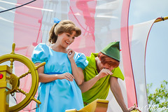 Festival Of Fantasy (disneylori) Tags: peterpan disney parade disneyworld characters wdw waltdisneyworld wendy magickingdom disneycharacters disneyparade disneyworldparade facecharacters waltdisneyworldparade festivaloffantasyparade