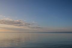 Calm waters (Infomastern) Tags: sea sky water himmel tranquility calm serenity vatten hav skanr