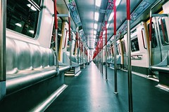 midnight train (CLY8) Tags: subway train iphone metro mtr hongkong