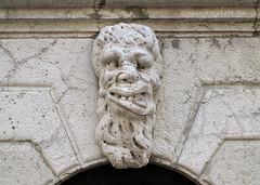 Grotesque (2010) (.annajane) Tags: venice italy sculpture church face statue italia head gargoyle chiesa venezia statua grotesque scultura testa santamariaformosa grottesco