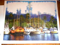 tropical sailboat puzzle (telepathicparanoia) Tags: puzzle jigsawpuzzle