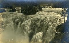 [IDAHO-B-0161] Snake River - Shoshone Falls (waterarchives) Tags: idaho snakeriver river realphotopostcardrppc shoshonefalls falls